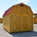 Treated Lofted Barn 10 x 16