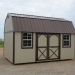 Painted Side Lofted Barn 10x20