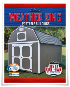 Weather King Buildings – Portable Storage Buildings, Sheds